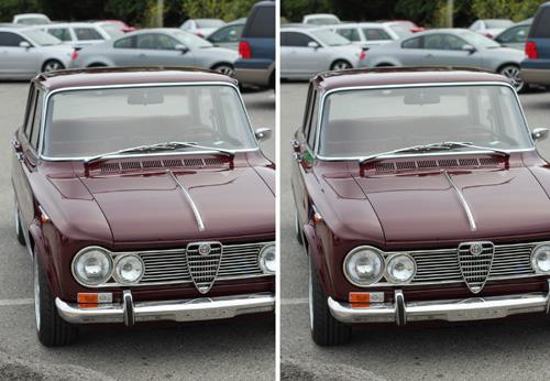 60's Alfa Romeo Giulia Super (Parallel 3-D)