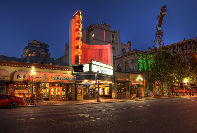 The Odeon Theater (HDR)