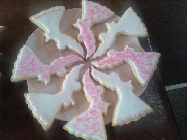 Christmas angel sugar cookies flickr photo sharing