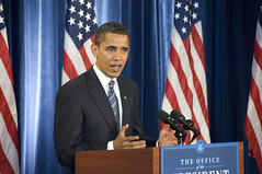 Former Illinois Senator, President-elect Barack Obama Press Conference