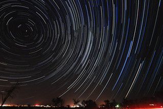 Perseids Star Trail | by Michelle Pilling Photography