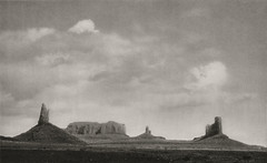 Monument Valley, Utah 1926, by E.O. Hoppe