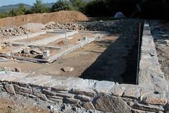 stone wall, wall, foundation, construction,