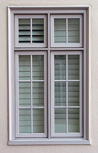119 casement windows with fixed transoms exterior view for Transom windows exterior