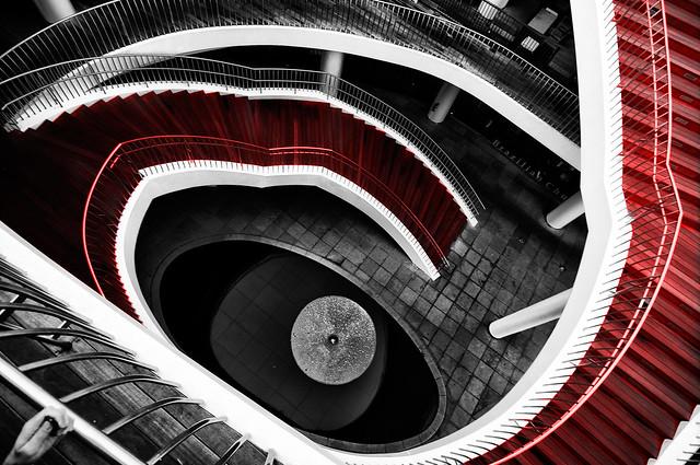 Color Key Week – Red Stairs