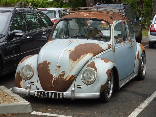 Rusty Vw Beetle A Rust Bucket Or Work In Progress Seen