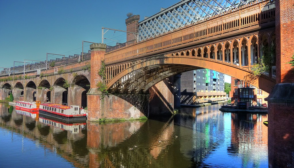 Bridgewater Canal Castlefield Manchester