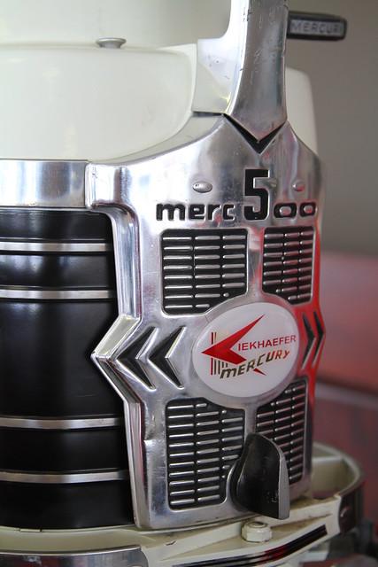 Mercury Outboard Motor Spray Paint