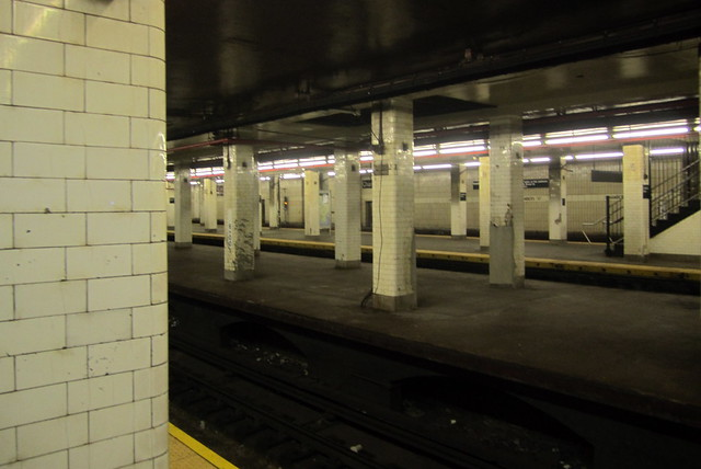 NYC - Chambers Street Subway Station (BMT) | The Chambers ...