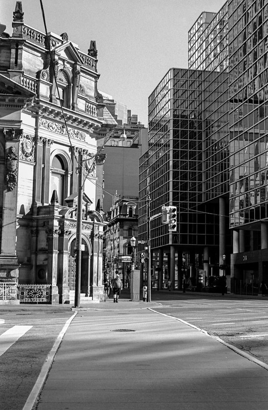 Yonge and Front in the Sun