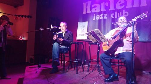 Santiago Montobbio y Ofilio Picón en Harlem Jazz Club. Fotos: Sofía Isus