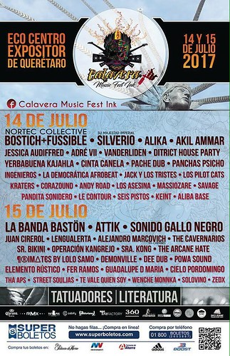 Calavera Music Fest Ink 2017