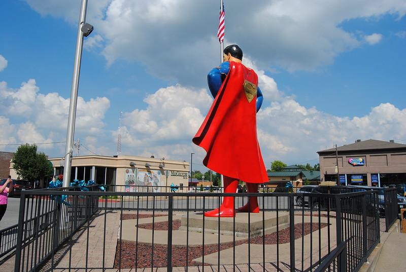 Superman Statue, Metropolis, IL
