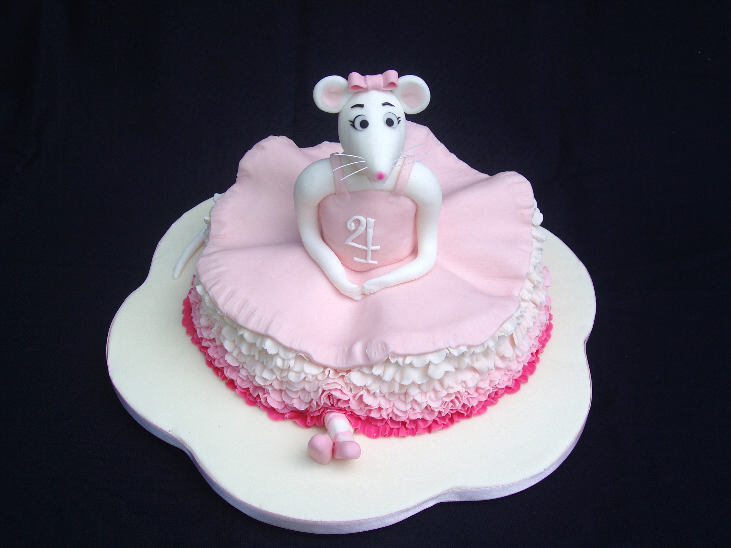 Cake Design Ballet : birthday cake designs Angelina Ballerina Flickr - Photo ...