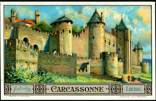 Liebig S1311 - European Cities - Carcassonne