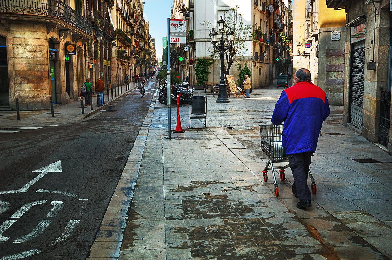 Barcelona photoblog el born carrer de la princesa in - Calle princesa barcelona ...