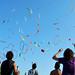 Juggling at Poetto by Giorgia Atzeni