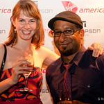 Virgin America in Toronto - Thompson Hotel - Team Klout (Megan Berry & Gregarious Narain)