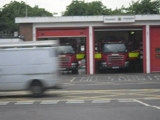Notts Fire and Rescue Turn out