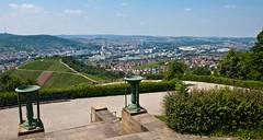Blick vom Württemberg