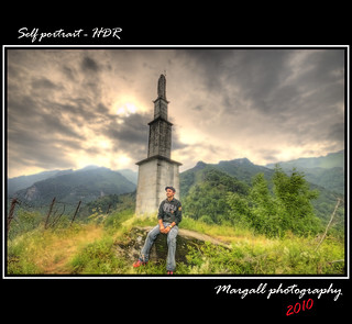 Self portrait - HDR by Margall