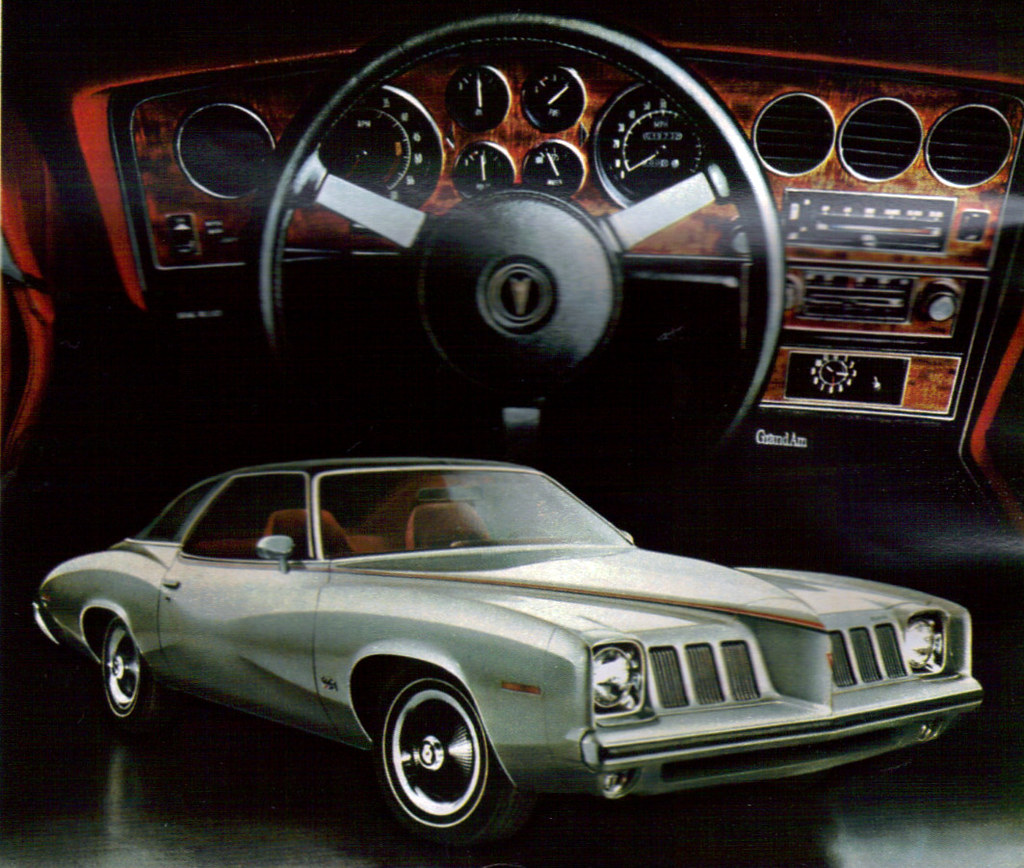 1973 Pontiac Grand Am Colonnade Coupe