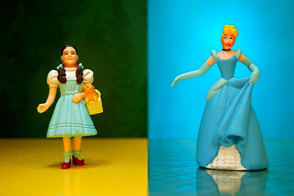 Dorothy Gale vs. Cinderella (186/365)