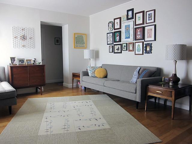 new modern retro living room flickr photo