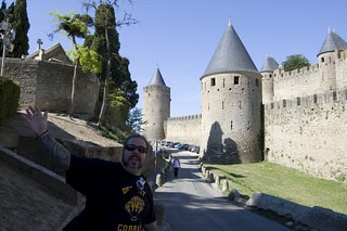Bill's vacation dance a la Carcassonne