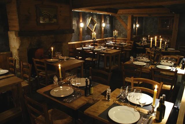 Restaurant L'OSTERIA (Courchevel 1850)