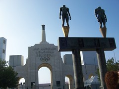 Los Angeles leg of the National Torch Run - November 2007