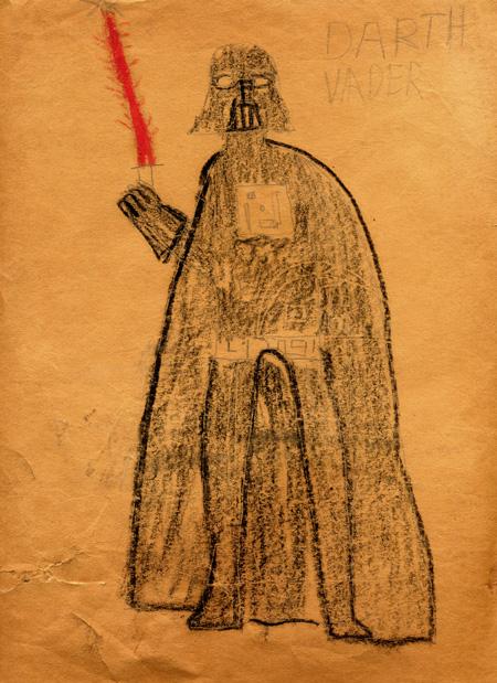 Darth Vader Illo circa 1977