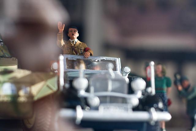 Who buys Hitler toys?!