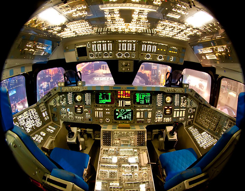 Space Shuttle Cockpit