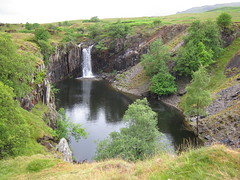 Disused Quarry between Torver and Walna Scar Road.