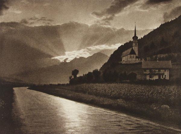 Wet Road, by Adolf Fassbender 1937