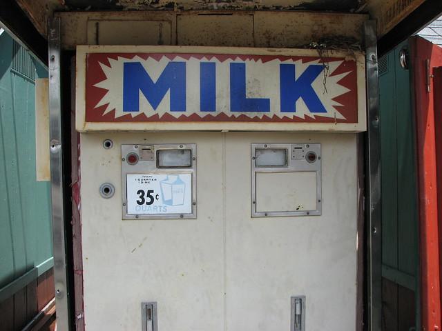 Vintage Milk Vending Machine Flickr Photo Sharing