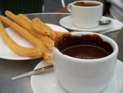 Churros and Chocolate at San Gines