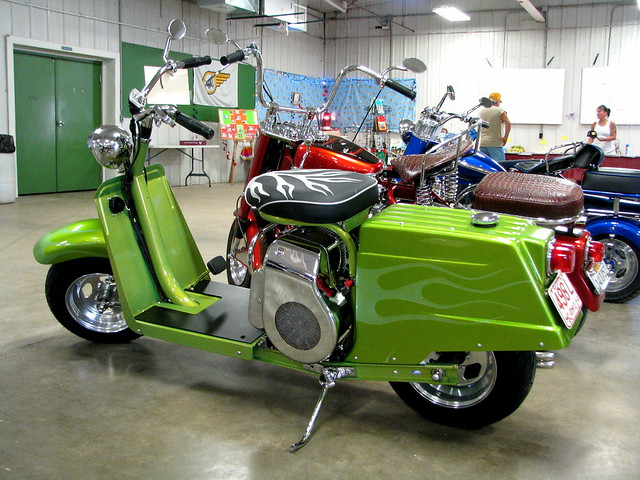 Cushman Scooter Show Portland Indiana | Autos Post