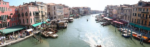 View from Rialto Bridge, Venice by Stocker Images