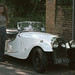 Nikkie with Classic Morgan Car Hampstead CWR995 London July 1999 009