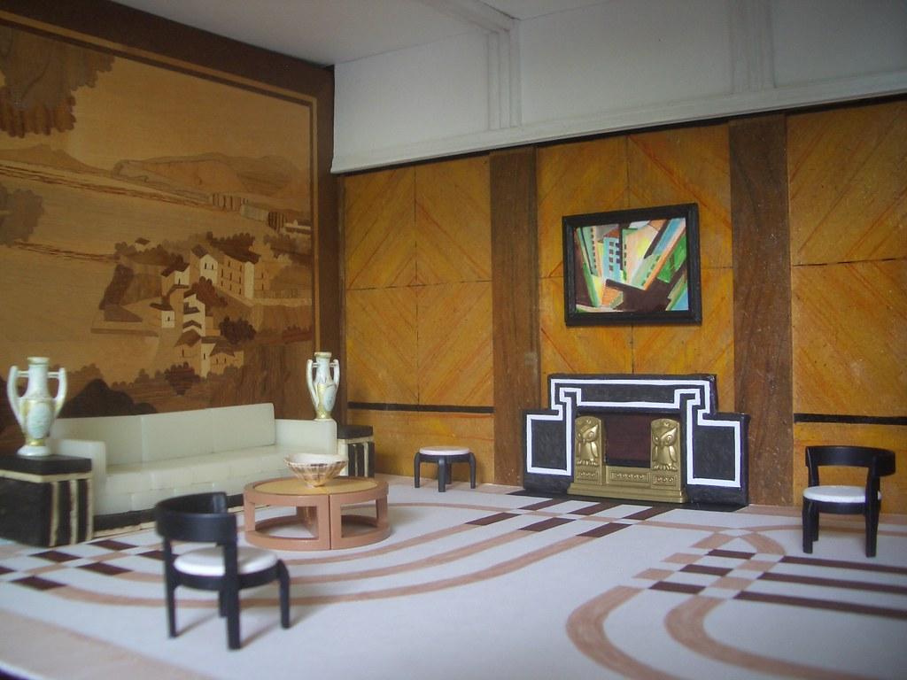 grand art deco lounge a photo on flickriver. Black Bedroom Furniture Sets. Home Design Ideas