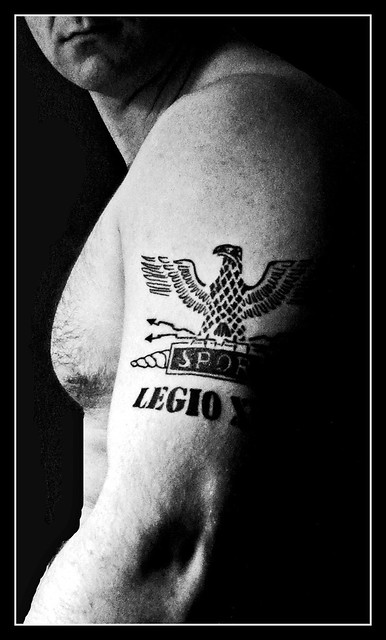 When Did The Spqr Tattoos Originate: Tattoo Legio 13 Roman SPQR