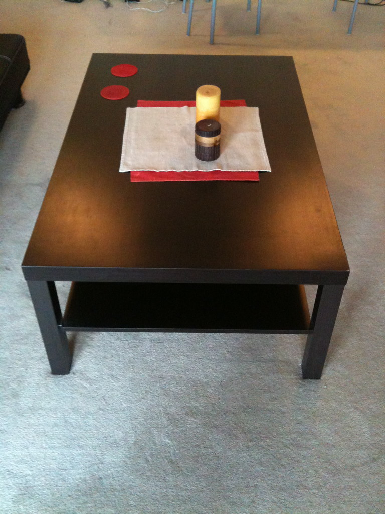 Chocolate Brown Coffee Table