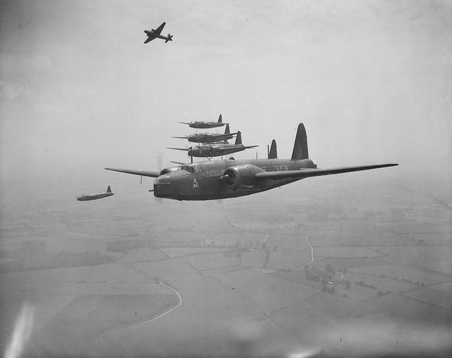 World War II Wellington bombers (2 of 2)