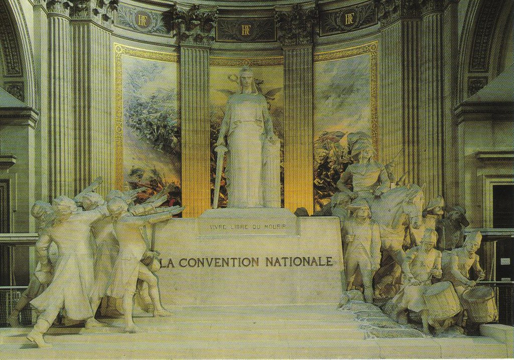 Pantheon paris france postcard available