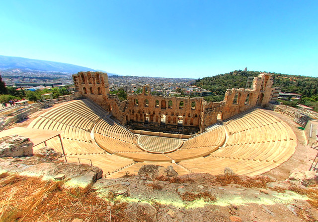 Theatre of Dionysus Eleuthereus  Flickr - Photo Sharing!