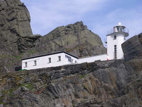 Skellig Michael light house