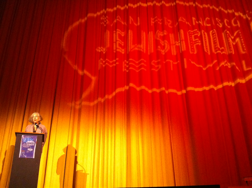 Lilly Rivlin at premiere of Grace Paley: Collected Shorts @sfjewishfilm #sfjff