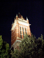 Allegany County Courthouse at Night
